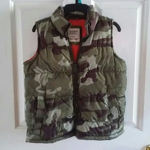 768204aff8ebe Old Navy Jackets   Coats - Old Navy Camo Puffer Vest fleece lined fall  winter